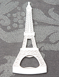 La Tour Eiffel Tower Style Chrome Bottle Opener Wedding Favors, Party Gifts