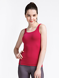 Corrida Blusas Mulheres Sem Mangas Respirável / Secagem Rápida / Vestível Elastano / Náilon Chinês Ioga SMOEDOD Wear SportsElasticidade