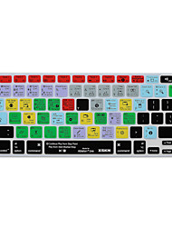 xskn Ableton Live 9 ярлыков силиконовая клавиатура кожи для Macbook Air 13, Macbook Pro сетчатки 13/15/17, US / EU макета