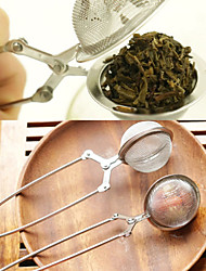 Tea Infuser Stainless Steel TeaPot Infuser Sphere Mesh Tea Strainer Handle Tea Ball