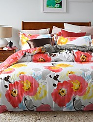 Comfortable Fashion Bedding Series 4PC Duvet Cover Sets,Queen Size