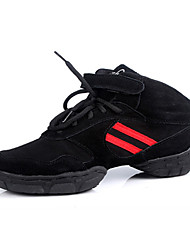 Customizable Women's/Men's Modern Dance Shoes /Sneakers in Black