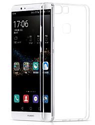 Pour Coque Huawei P9 P9 Lite P8 P8 Lite Ultrafine Coque Coque Arrière Coque Couleur Pleine Flexible PUT pour HuaweiHuawei P9 Huawei P9