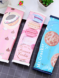 Cookies Pen Bag Of Female Creative High School Student Pencil-Box Children Stationery Bags Products