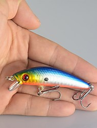 """10 pcs kleiner Fisch Verschiedene Farben 8.5g g/5/16 Unze,70 mm/2-3/4"""" Zoll,KunststoffSeefischerei / Köderwerfen / Eisfischen / Spinning"""