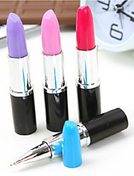 5PCS Novelty Lipstick Ball-Point Pen Lipstick Pen(Style random)