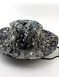 Chapéu de Sol Chapéu Impermeável / Isolado / Alta Respirabilidade (>15,001g) / Materiais Leves / Macio UnissexoPreto / Ciano / Camuflagem