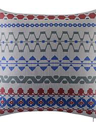 Polyester Coussin avec rembourrage,Géométrique Rétro