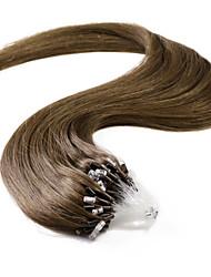 neitsi® 20inch micro anneau boucles extensions de cheveux humains sonne cheveux humains 6 #