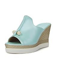 Women's Shoes Wedges Heels/Platform/Sling back/Open Toe Sandals Dress Black/Blue/Pink/White