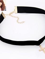 Modische Halsketten Halsketten / Gothic Schmuck Schmuck Halloween / Party / Alltag / Normal / Sport Modisch Aleación Schwarz 1 Stück
