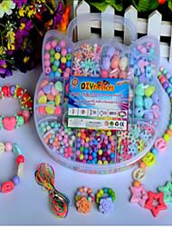детские поделки руки тканые браслет правильно обучение амблиопии акриловые бисером коробки головоломки / игрушки