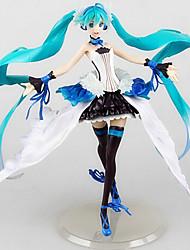 Vocaloid Hatsune Miku 24.5CM Figuras de Ação Anime modelo Brinquedos boneca Toy
