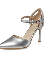 Zapatos de mujer-Tacón Stiletto-Tacones-Sandalias / Tacones-Boda / Oficina y Trabajo / Casual / Fiesta y Noche-Sintético / Semicuero-