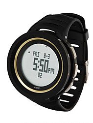Sports Watch Men's / Ladies' / UnisexLCD / Compass / Thermometer / Calendar / Chronograph / Water Resistant / Dual Time Zones / Sport