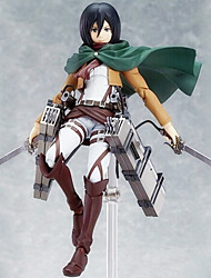Sword Art Online Mikasa Ackermann 15CM Anime Action Figures Model Toys Doll Toy