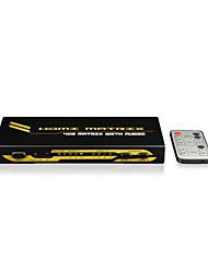 matriz de 4x2 HDMI custo-eficiente, com aparelho de som, toslink ou coaxial (RCA) com CE FCC certificados de Rosh