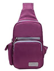 Для женщин Нейлон На каждый день / Для отдыха на природе Креста тела сумка / Слинг сумки на ремнеФиолетовый / Синий / Красный / Черный /
