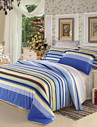High qulity 100% Cotton Bedclothes 4pcs Bedding Set Queen Size Duvet Cover Set good qulity