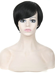 """8"""" Synthetic Short  Wigs Pixie Cut Black Wig for Women African American Wig"""