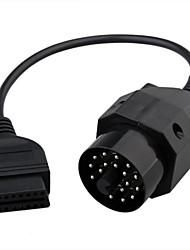 2o Stift obd2 Buchse 16 Pin-Adapter-Stecker für bmw