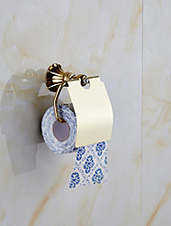 Gold Bathroom Accessories Solid Brass Toilet Paper Holders