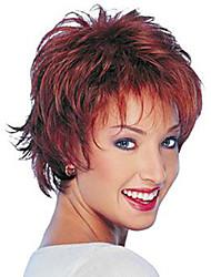 2015 novo encaracolado alice virou perucas sintéticas curtas Borgonha peruca de cabelo para as mulheres