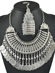 Jewelry Set Women's Gift / Party / Daily Jewelry Sets Alloy Non Stone Necklaces / Bracelets Silver