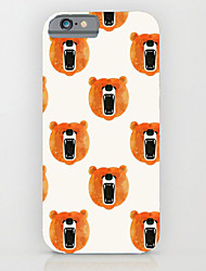 Para Funda iPhone 6 / Funda iPhone 6 Plus Diseños Funda Cubierta Trasera Funda Azulejos Dura PolicarbonatoiPhone 6s Plus/6 Plus / iPhone
