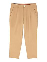 Meters/bonwe Men's Jeans / Culotte Pants Green / Khaki-248408
