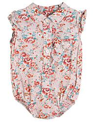 Girl's Dress,Cotton Summer / Spring Pink