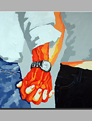 Ölgemälde moderne abstrakte reine Hand zeichnen bereit dekorativ hängen die Hände reichen