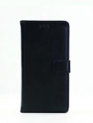 Pour Coque Sony / Xperia X / Xperia XA Portefeuille / Porte Carte / Avec Support / Clapet Coque Coque Intégrale Coque Couleur Pleine Dur