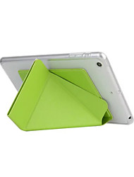 Smart Cover para iPad Smart Case 6 transformador para iPad Mini 4 TPU caso de couro com suporte funtion