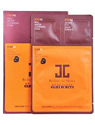 Маски влажный Ткань Влажность / Отбеливание / Лифтинг и повышение эластичности кожи Лицо Korea JAYJUN