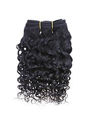 50г 1шт пучки переплетения 8inch бразильские виргинские волосы натуральный черный волос необработанный человеческих волос