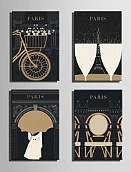 Bande dessinée Toile Un Panneau Prêt à accrocher,Format Vertical