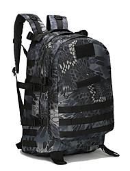 20-35 L Rucksack Camping & Wandern Outdoor tragbar Khaki / Schwarz / Armeegrün Oxford aile