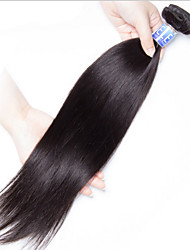 Menschenhaar spinnt Brasilianisches Haar Gerade 18 Monate 1 Stück Haar webt