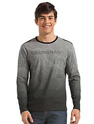 Seven Brand® Men's Round Neck Long Sleeve T Shirt Gray-702T572083
