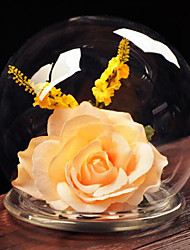 verre de style européen pour la décoration maison 1pc / set (vase seulement sans aucune fleur)