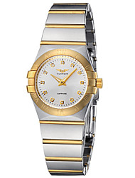 GUANQIN® High-end Luxury Japanese Quartz Diamond Watch Steel Gold-plated Waterproof 28mm Women Wristwatch Cool Watches Unique Watches With Watch Box