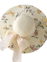 LYZA Printing Large Brimmed Hat