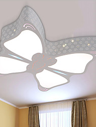 Modern LED Butterfly Ceiling Lamp Metal Flush Mount Living Room / Bedroom / Dining Room /Kids Room