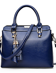 Women PU Formal / Casual / Event/Party / Office & Career / Shopping Shoulder Bag / Tote / SatchelWhite / Blue / Gold / Red / Black /