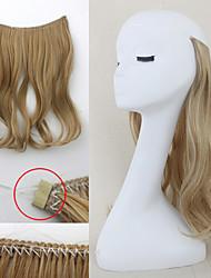 флип в тайных наращивания волос волнистые волосы строки