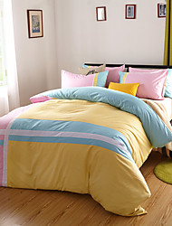 Stripe Cotton 4 Piece Duvet Cover Sets