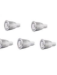 morsen® 5pcs 7w LED GU10 Spot 7 cob 500-550 lm ac blanc froid 220-240 v