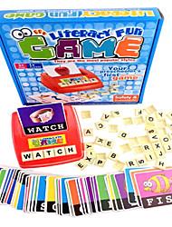 Aprender Inglês divertido jogo de alfabetização para jogo de cartas sortidas preschooler s