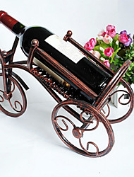 europeu do vinho de forma criativa vinho antigo porta-garrafas uva vermelha rack de vinho rodada